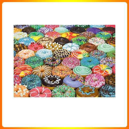 Cozytime 1000 Piece Puzzle for Adults – Difficult Donuts Jigsaw Puzzle