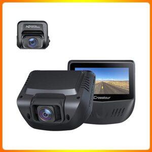 1080P-FHD-Front-and-Rear-Dual-Lens Trucker Dash Cam