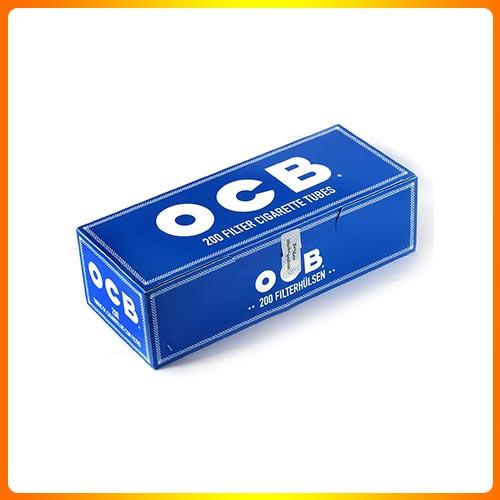 200 OCB Blue Filter Cigarette Tubes from Hemp Pape