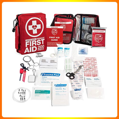 200-Piece Professional First Aid Kit for Home