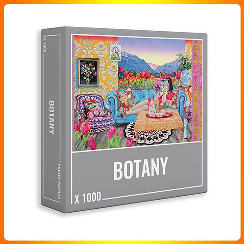 Cloudberries Botany –1000-Piece Jigsaw Puzzle for Adults