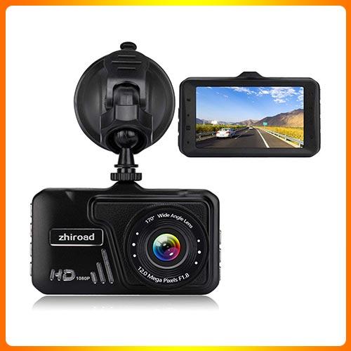 Dash Cam Zhiroad 1080P FHD 3″ LCD Screen