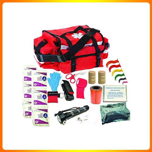 Deluxe Stocked Large EMT Trauma Bag First Aid Kit