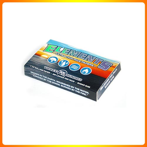 ELEMENTS 300 Ultra Thin Rice Rolling Paper 1.25 1 1/4 Size