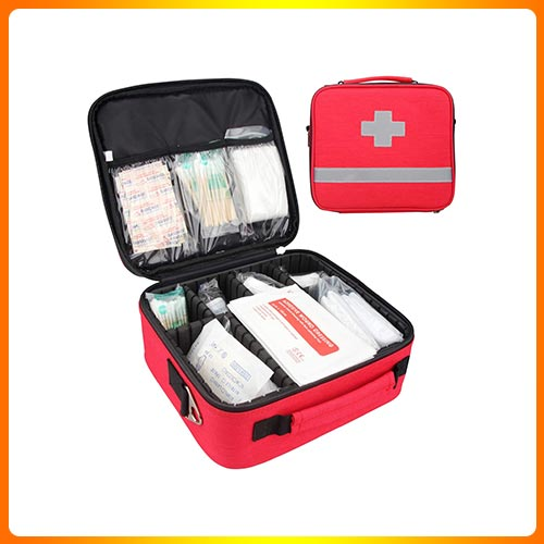 First Aid Kit, Professional Waterproof Premium Nylon