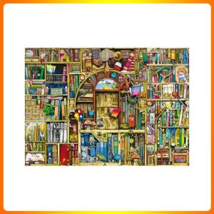 Ravensburger Bizarre Bookshop 2 1000 Piece Jigsaw Puzzle for Adults