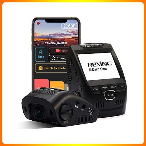 Rexing V1-4K Ultra HD Car Dash Cam 2.4″ LCD Screen