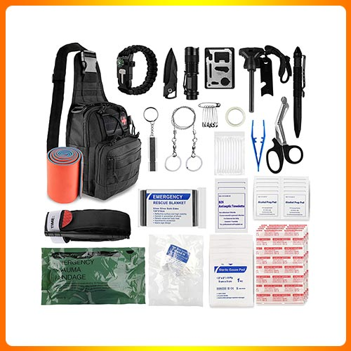 Sun Sante Emergency Trauma Survival First Aid Kit