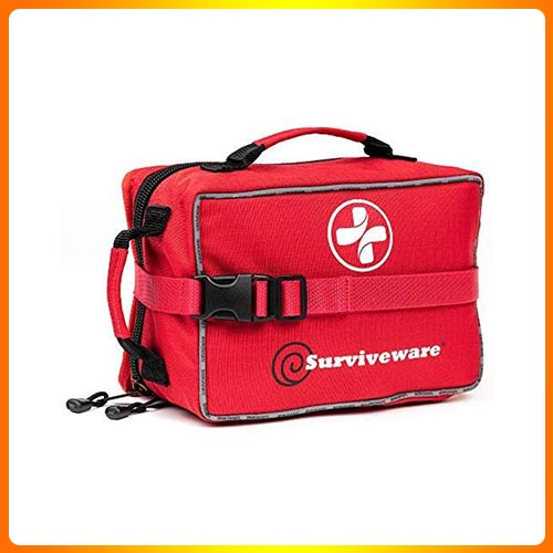 Surviveware Large First Aid Kit for Survival