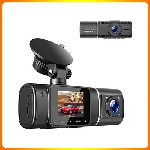 TOGUARD Dual Dash Cam with IR Night Vision