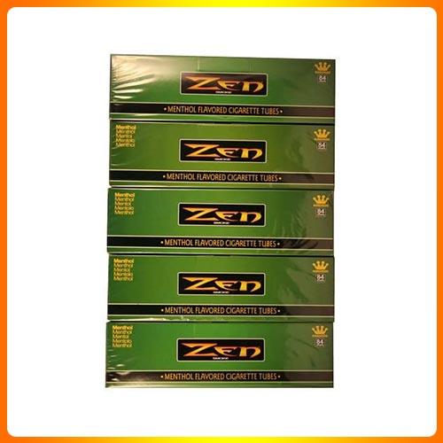 Zen Menthol King Cigarette Tubes 200ct Carton 5 Pack
