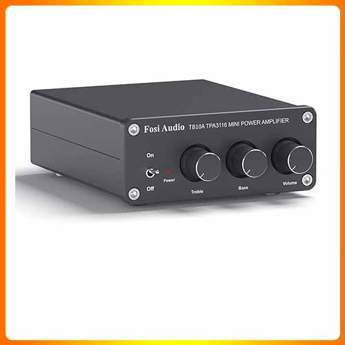 2 Channel Stereo Audio Amplifier