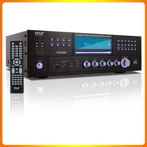 4-CHANNEL-WIRELESS-BLUETOOTH-AMPLIFIER-3000-WATT-STEREO-SPEAKER-HOME-AUDIO-RECEIVER-W-FM-RADIO,-USB,-2-MICROPHONE-w-ECHO-FOR-KARAOKE,-FRONT-LOADING-CD-DVD-PLAYER,-RACK-MOUNT-PYLE-PD3000BA.