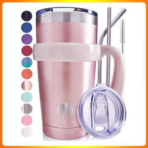 ALBOR-TRIPLE-INSULATED-STAINLESS-STEEL-TUMBLER-20-OZ-GLITTER-ROSE-GOLD-COFFEE-TRAVEL-MUG-WITH-HANDLE.