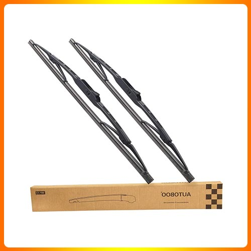 AUTOBOO for Jeep Wrangler Front Windshield Wiper Blades
