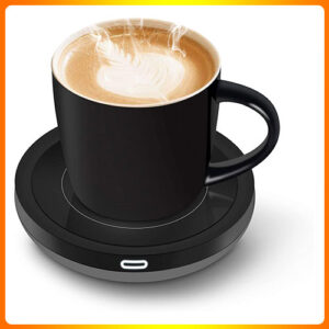 AUTO-ON-OFF-GRAVITY-INDUCTION-MUG-OFFICE-MUG-DESK-USE,-CANDLE-WAX-CUP-WARMER-HEATING-PLATE.