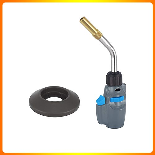 BLUE FIRE NOZZLE HEADE D, TRIGGER STARTING CYLINDER BASE PROPANE TORCH.