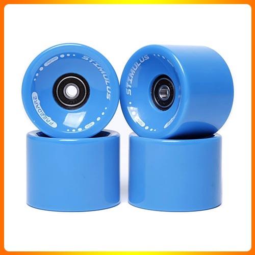 FREEDARE 70mm Longboard Wheels with ABEC-7 Bearing