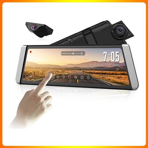 Front Camera, and 720P Rear View Recorder Dash Camera