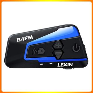 LEXIN-1pc-LX-B4FM | Best Motorcycle Bluetooth Headset