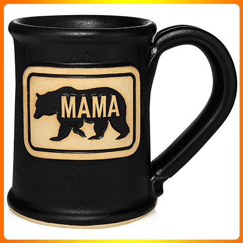MAMA-BEAR-COFFEE-CUP-MUG-MOM-COFFEE-MUGS-BEST-BIRTHDAY-GIFT-FOR-MOM-GREAT-GIFT-FOR-NEW-MOM-GREAT-GIFT-FOR-EXPECTING-MOTHER-BLACK-14-OZ-HAND-MADE-IN-THE-USA-BY-UNCOMMON-CLAY.