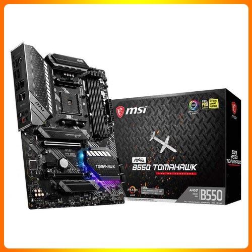 MSI-MAG-B550-TOMAHAWK | Best AMD PCIe 4.0 Motherboard