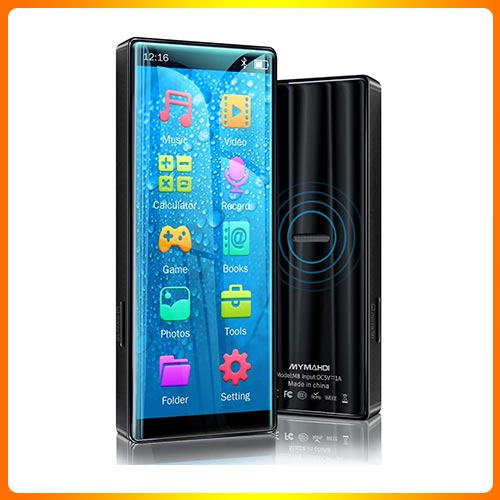 MYMAHDI Bluetooth MP3 Player for Audiobooks