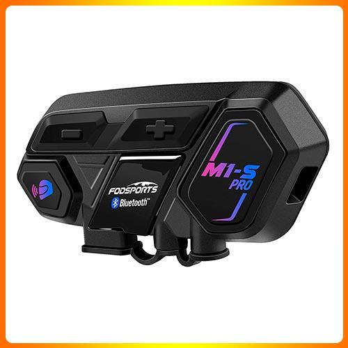 FODSPORTS Motorcycle Bluetooth Headsets