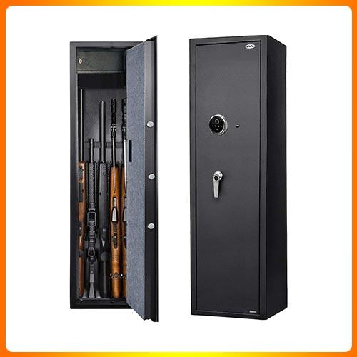 Moutec Large Biometric Rifle Gun Safe