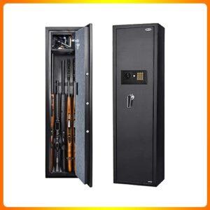 Moutec-Large-Rifle-Safe,-Quick-Five-access-Gun-safe