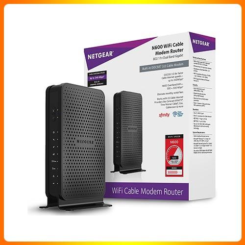 NETGEAR N600 WiFi Router for Xfinity