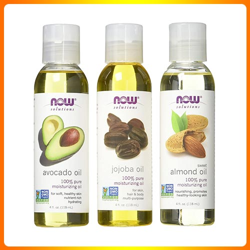 Now Foods Sweet Almond, Avocado, and Jojoba Oils