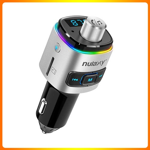 Nulaxy 7 color Bluetooth Transmitter for Car