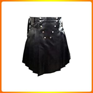 Olly-And-Ally-Mens-Black-Leather
