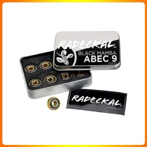 RADECKAL-Black-Mamba-ABEC-9-Longboard-Bearing