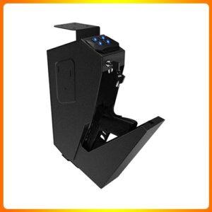 RPNB-Mounted-Gun-Safety-Device-with-Biometric-Lock | Best Gun Safes Under 500