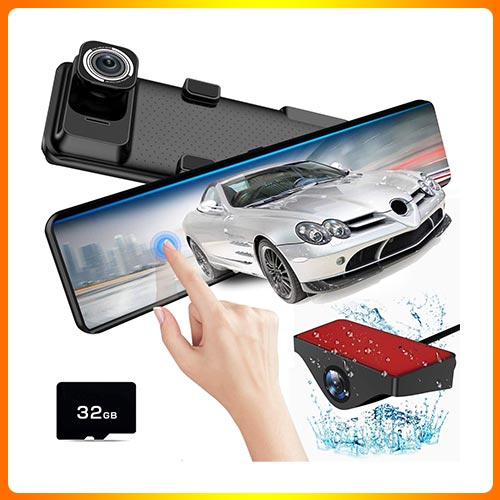 Rear Dash Camera with HDR, Night Vision