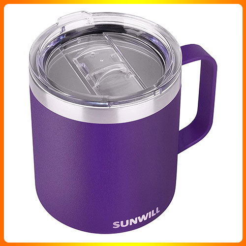 SUN-WILL-INSULATED-COFFEE-MUG-WITH-HANDLE,-14OZ-STAINLESS-STEEL-TOGO-COFFEE-TRAVEL-MUG,-REUSABLE-AND-DURABLE-WALL-COFFEE-CUP,-POWDER-COATED-PURPLE.