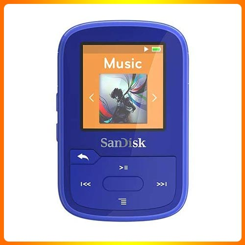 SanDisk Clip Sport Plus MP3 Player for Audiobooks
