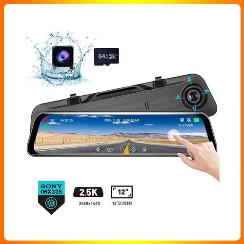 Screen Video Streaming Rear View Mirror Camera