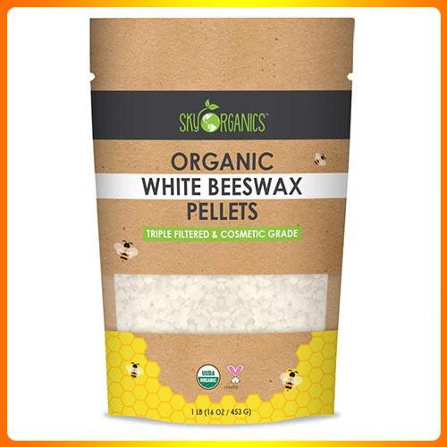 Sky-Organic-White-Beeswax-Pellets