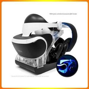PSVR charging peripheral fast AC charging dual shock.