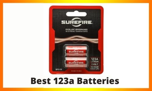 Best 123a Batteries