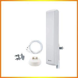Antop HDTV Omnidirectional Outdoor TV Antenna Amplifier Signal Booster<br />