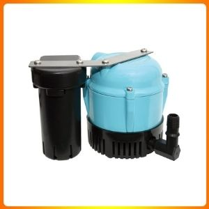 LITTLE GIANT 55051 1 ABS DISCHARGE SHALLOW PAN CONDENSATE REMOVAL PUMP, 115 VOLTS 205 GPH.
