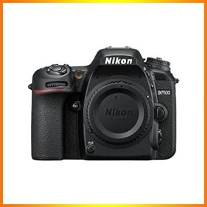 Nikon D7500 DX-format Digital SLR Body | Best Nikon Camera for Videography ( Nikon Z6 FX, D5600 DX, Canon EOS 5D)2021