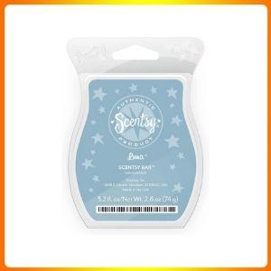 Scentsy Luna Wickless Candle Tart Warmer Wax