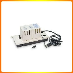 LITTLE GIANT VCC 20ULS LOW PROFILE TANK CONDENSATE REMOVAL PUMP WITH SAFETY SWITCH, COLOR.