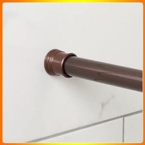 Zenna home bronze 505RB, tension shower curtain rod, 43 o 72 inches, oil rubbed 72 inches.