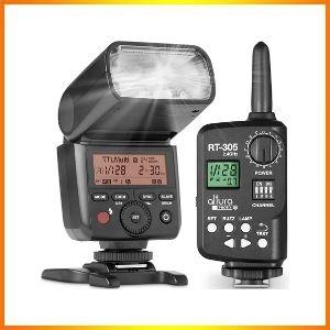 Altura Photo AP-305S Camera Flash Speedlite with Wireless Manual Trigger<br />